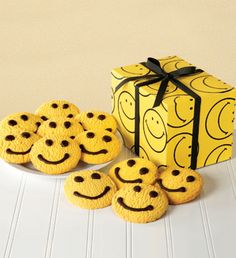 Smiley Face Butter Cookies from The Popcorn Factory. - $19.99