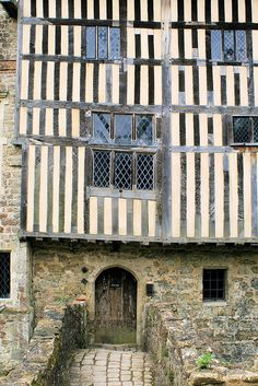 Medieval Manor house 2 by ruthhallam, via Flickr