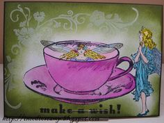 Fairy in a thee cup