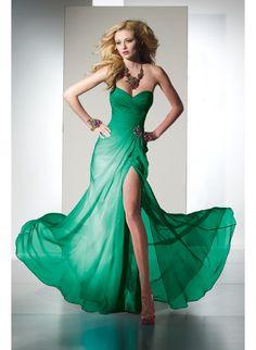 Alyce Paris 35442 Kelly Green Dress