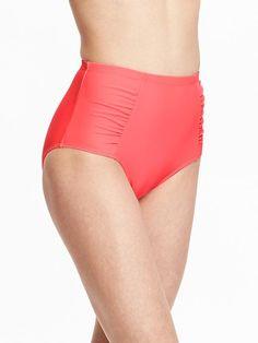 Women's High-Rise Bikini Bottoms