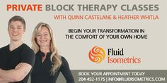 Private Block Therapy classes with Quinn Castelane & Heather Whitla are now available by appointment. Can't make a class? We'll bring Block Therapy to you. Leaving Home, Chronic Pain, Appointments, Breathe, Improve Yourself, Therapy, Public, Healing, Gift Ideas
