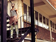 Men's 2012 London Fashion  Make Up/ Hair - Nicola Moores  Stylist - Josh Abbott  Photographer- Jay Mclaughlin