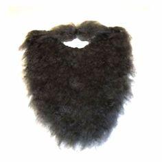 "Fake Beard and Mustache Halloween Costume Accessory-Black-8"" JAC http://www.amazon.com/dp/B008MYY87W/ref=cm_sw_r_pi_dp_6X5fub0TSR0Z0"