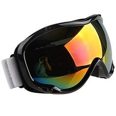 Motorcycle Goggles Outdoor Sports ATV Snowmobile Scooter Driving Flying Protect EyeWear Black Frame Color Lens Glasses For 1994 1995 1996 1997 1998 1999 2000 2001 Ducati MONSTER M600 ** Details can be found by clicking on the image.