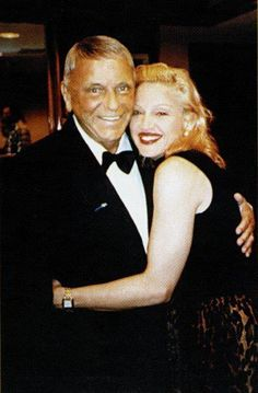 MADONNA and FRANK SINATRA