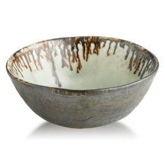 Alice Goldsmith Ceramics - Hammered Celadon Dessert Bowl  http://www.alicegoldsmithceramics.com/