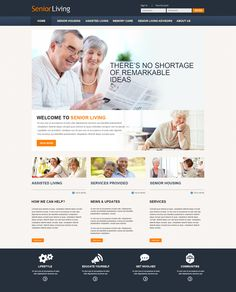 Beautiful Senior Living Websites Retirement Homes Website Design And Center