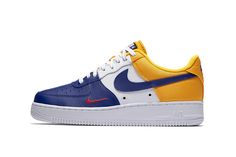 """The Air Force 1 Mini Swoosh """"Deep Royal"""" Is Nike's Next Olympic-Proud Colorway"""