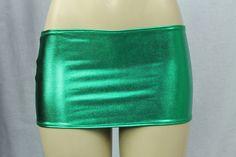 Vinyl-Look Miniskirt @1lovebeingirish #Green #irish #ireland #kizarma #ilbi Irish Costumes, Party Supplies, Gym Shorts Womens, Mini Skirts, Green, Ireland, Kiss, Fashion, Moda