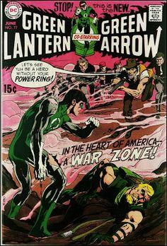 Fantasy Ink: Neal Adams' Green Lantern & Green Arrow