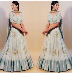 #asthanarang #summer2017 #brides Indian Fashion Dresses, Indian Designer Outfits, Indian Outfits, Designer Dresses, Indian Clothes, Indian Wedding Gowns, Indian Bridal Lehenga, Simple Lehenga, Wedding Lehenga Designs