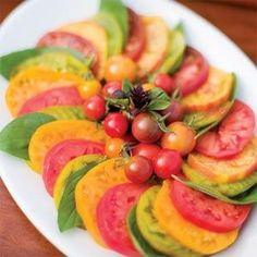 Deep-Summer Tomato-Basil Salad Recipe | MyRecipes.com