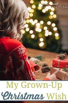 Just because I'm a grown up doesn't mean that I can't have a Christmas wish. This year I'm going to strive to make my own #Christmas wish come true! #ASeasonofJoy