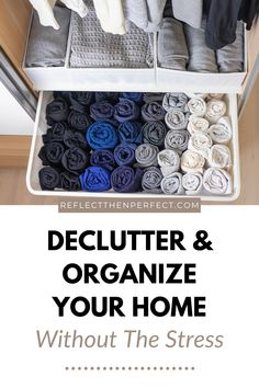 Organize your home without the stress. Declutter and simplify each room with these basic tips. Simple steps to plan, purge, sort and organize every room in your house. #declutter #organize #organizetips #simplifyyourhome #minimalisthome Garage Organization Tips, Organizing Tips, Organizing Your Home, Life Organization, Cleaning Hacks, Family Organizer, Creative Storage, Make Up Your Mind, Declutter Your Home