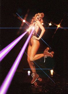 Lazertits #laser #ray #rollerskates #disco - Carefully selected by Gorgonia www.gorgonia.it