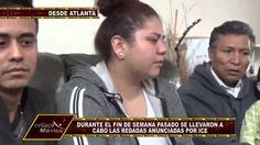 INDOCUMENTADOS EN RIESGO DE SER DEPORTADAS POR REDADAS DEL ICE