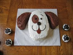 okissia: ideas fáciles para decorar tus tartas y cupcakes caseros con formas de animales.