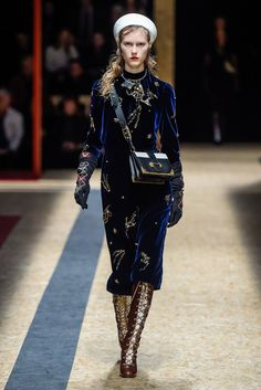 Prada RTW Fall 2016 | #MFW [Photo: Giovanni Giannoni]