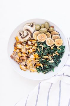 Simple Sweet Potato and Greens Bowl | Nutrition Stripped