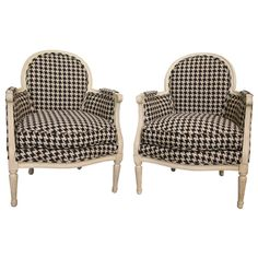 Bergere Chairs | Hounstooth