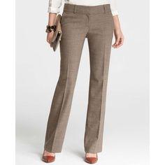 Ann Taylor Tall Modern Tweed Trousers