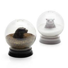 Z Gallerie - Snowglobe Salt & Pepper Set