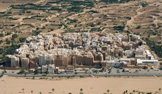 The ancient city of Shibam, Yemen, a UNESCO World Heritage Site.