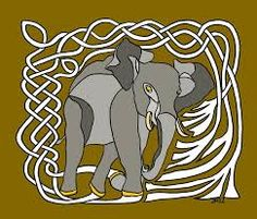 Image result for celtic style elephant