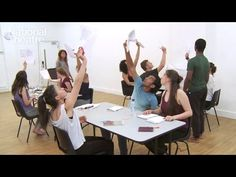 In this film on creating chorus, movement director Aline David leads a group of actors through exercises used during rehearsals for the National Theatre's production of Antigone. Here she demonstrates how repetitive movement sequences can be created to accompany the Classical Greek text.