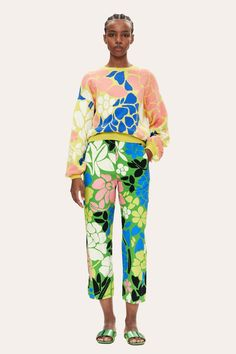 Leaf Prints, Floral Prints, Yellow Sweater, Online Shopping For Women, Organic Cotton, Banana, Glamour, Long Sleeve, Sweaters