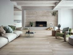 NZ's leading commercial and residential flooring and facade specialists; making design concepts a reality through our expertise and the world's best brands. Living Room Flooring, Living Room Tv, Home Living, Living Room Modern, Piece A Vivre, Tile Design, Home Interior Design, Furniture Design, House Design