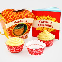 Fortune Cupcake Kit