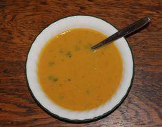 vegetarian recipes for interstitial cystitis: butternut squash bisque