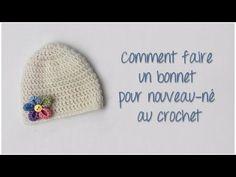 Je vous propose dans ce nouveau tutoriel de réaliser un bonnet pour nouveau-né au crochet, qui sera parfait pour un cadeau de naissance par exemple :) Bon cr...