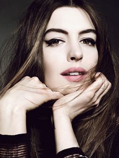 Anne Hathaway: Her Allure Cover Shoot