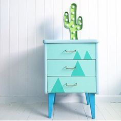 This. All day, this. A little modern-meets-Southwest style for your nursery, kids room or any room in the house! via @knipsarina