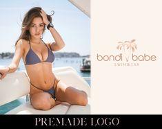 Business Branding, Logo Branding, Tree Logos, Beach Themes, Light In The Dark, Logo Design, Shop, Swimwear, Etsy