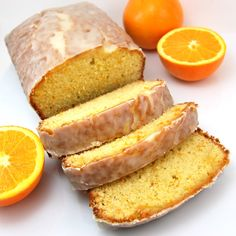 Orange Pound Cake by sweetpeaskitchen #Cake #Orange