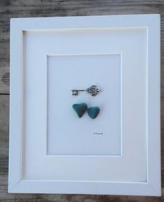 Pebble art heart key Pebble art heart Love by pebbleartSmiljana