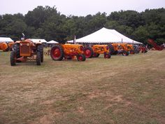 Lineup of MM tractors Antique Tractors, Vintage Tractors, Minneapolis Moline, Big Daddy, History Photos, Lineup, Monster Trucks, Motorcycles, Tractors