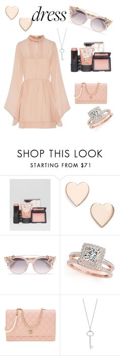 """""""Dress The Dress"""" by adriana4-life on Polyvore featuring NARS Cosmetics, Poppy Finch, Jimmy Choo, Allurez, Chanel, Tiffany & Co. and Emilio Pucci"""