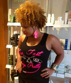 Aveda hair color. Natural hair with twist curl effect. Hairstylist. P2013