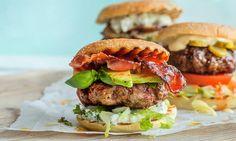 bacon cheeseburger no avocado grillmat