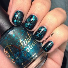 Delush Polish: A Night in The Asylum from the #americanhorrorstory inspired collection #ahs #nailpolish