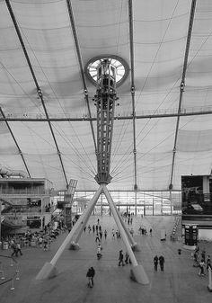 Millennium Dome in London, Richard Rogers Partnership
