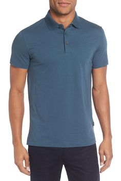 Place Modern Trim Fit Jersey Polo