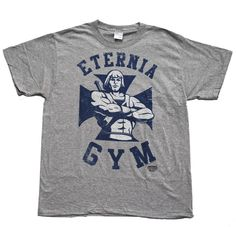 Eternia Gym He-Man Official Licensed Authentic Adult T-Shirt She-Ra in Clothes, Shoes & Accessories, Men's Clothing, T-Shirts | eBay