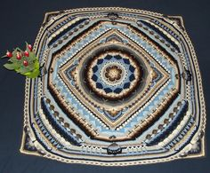 Ravelry: CM3548's Flowers On Ice: Sophie's Universe - Colours of Rows listed