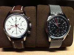 Breitling Transocean GMT Chrono with Calibre 04 movement. £6,830 brclt, £6,750 strap. 43 mm. 1000 pieces of each model